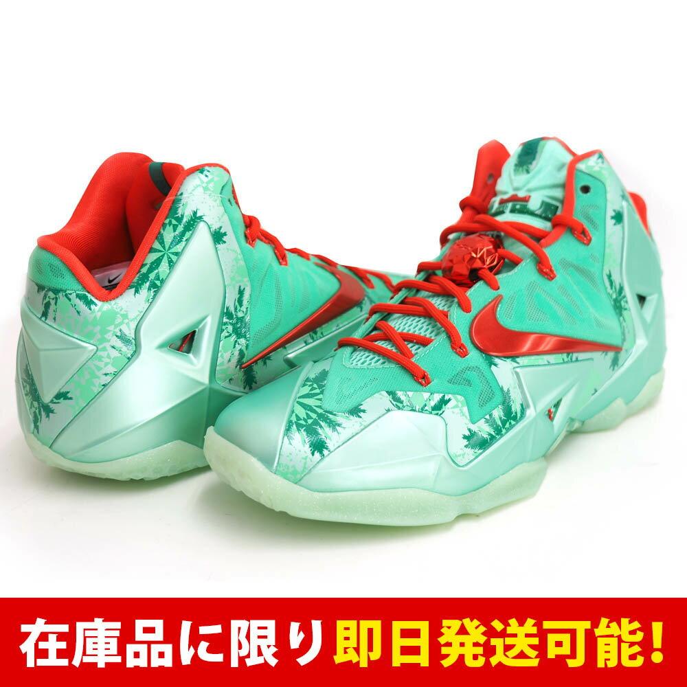 レブロン LEBRON レブロン・ジェイムス XI ナイキ Nike Green Glow Lt Crmsn-Arctc Grn:メジャーアメフト即納店SELECTION
