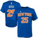 NBA ニックス デリック・ローズ ネット ナンバー Tシャツ アディダス/Adidas ロイヤルブルー 特別セール 特別セール 特別セール 特別セール 特別セール