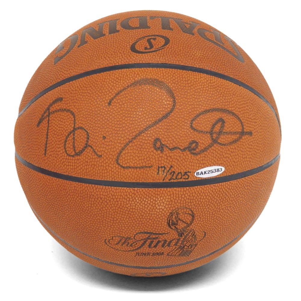 アッパーデック/Upper Deck セルティックス ケビン・ガーネット サイン入り オフィシャル ゲーム バスケットボール:メジャーアメフト即納店SELECTION