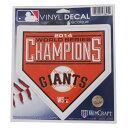 MLB ジャイアンツ ワールドシリーズ チャンピオン 2014 ステッカー ウィンクラフト/WinCraft