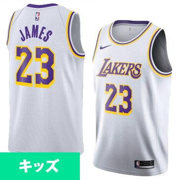 NBA レイカーズ レブロン・ジェイムス ユニフォーム/ジャージ ユース アソシエーション エディション スウィングマン ナイキ/Nike