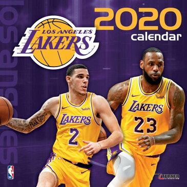 ご予約 NBA ロサンゼルス・レイカーズ 2020 チームウォール カレンダー Turner【1910価格変更】