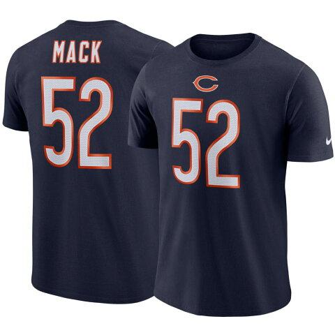 NFL カリル・マック ベアーズ Tシャツ プレーヤー プライド ネーム&ナンバー ナイキ/Nike ネイビー BQ1354-460【OCSL】