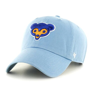 MLB シカゴ・カブス キャップ/帽子 Cooperstown Clean Up Adjustable Cap 47 Brand Columbia