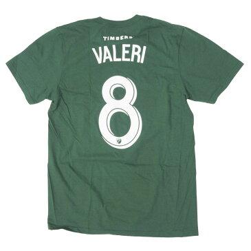 MLS ディエゴ・ワレリー ポートランド・ティンバーズ Tシャツ N&N Jersey Tee アディダス/Adidas グリーン