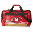 NFL バッグ 49ers ダッフルバッグ Forever Collectibles レッド