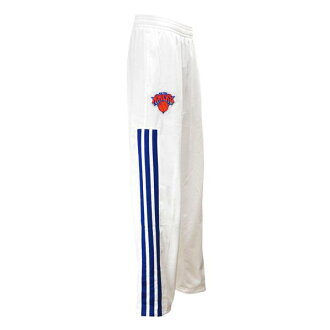 NBA Knicks pants white adidas /Adidas (13-14 Warmup Pant On-Court)