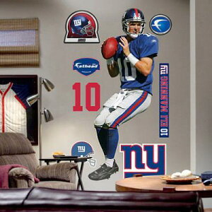 NFLFatheadRealBigステッカーニューヨーク・ジャイアンツイーライ・マニング