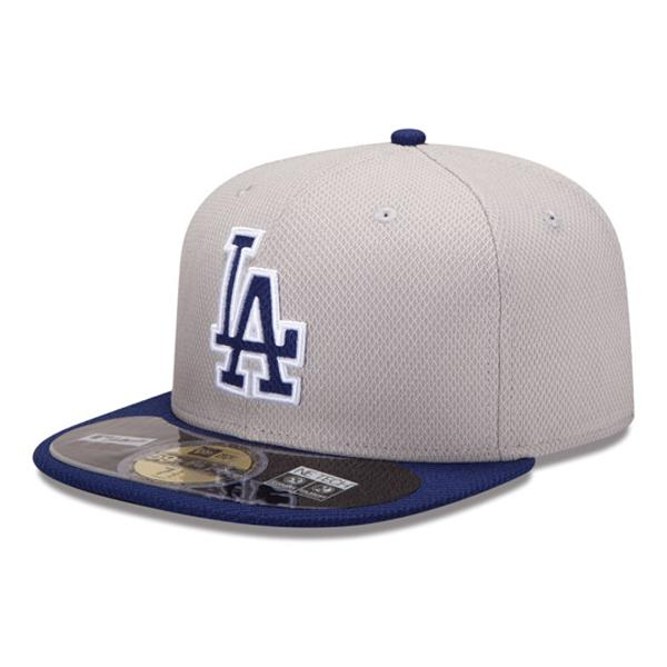 MLB Dodgers Cap / Hat road new era Authentic Diamond Era 59FIFTY BP Cap 2013