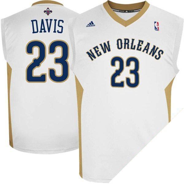 お取り寄せ NBA ペリカンズ アンソニー・デイビス ユニフォーム ホーム アディダス Revolution Replica ユニフォーム