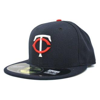 MLB Minnesota Twins Authentic Performance On-Field cap (home) New Era