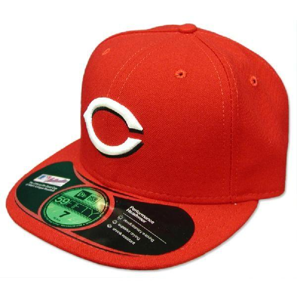 New Era MLB Cincinnati Reds Authentic Performance On-Field Cap (home)