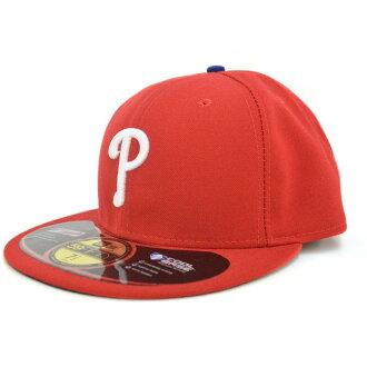 New Era MLB Philadelphia Phillies Authentic Performance On-Field Cap (game)