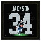 お取り寄せ NFL レイダース ボー・ジャクソン フォト ファイル/Photo File UNIFRAME 20 x 20 Framed Photographic【1910価格変更】