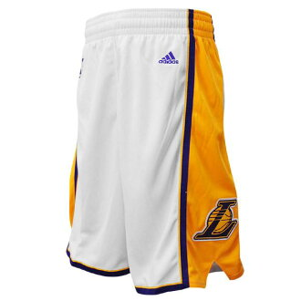 NBA Lakers shorts alternate adidas Revolution Swingman shorts