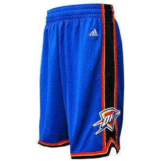 NBA Thunder shorts road adidas Revolution Swingman shorts