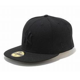 New Era MLB New York Yankees 59FIFTY Custom Color Cap (black)