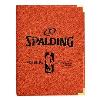 NBA binder A4 size (orange) SPALDING