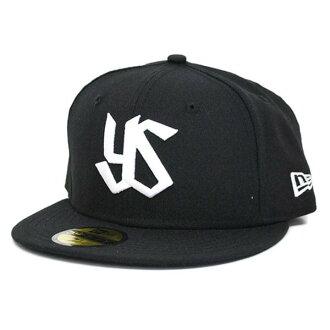 Tokyo Yakult Swallows Custom Color Cap 2013 alter logo (black / white) New Era