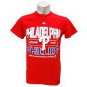 MLB フィリーズ Tシャツ マジェスティック AUTHENTIC EXPERIENCE Tシャツ【9月セール解除】