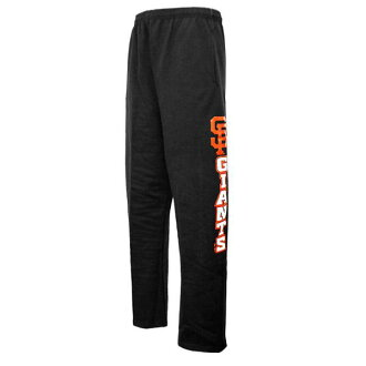 Majestic MLB San Francisco Giants Hook Side Fleece Pants (black)