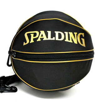 NBA BALL bag (gold) SPALDING