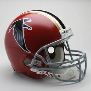お取り寄せ NFL ファルコンズ ヘルメット 66-69 リデル/Riddell Throwback Authentic On-Field Hel...