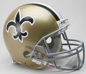 お取り寄せ NFL セインツ ヘルメット 67-75 リデル/Riddell Throwback Authentic On-Field Helmet
