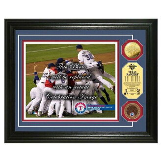 2011 MLB Texas Rangers AL Champs Infield Dirt Coin photo mint The Highland Mint