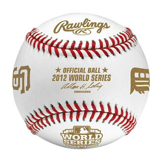 Rawlings MLB 2012 World Series Baseball with Tigers and Giants Logos ball