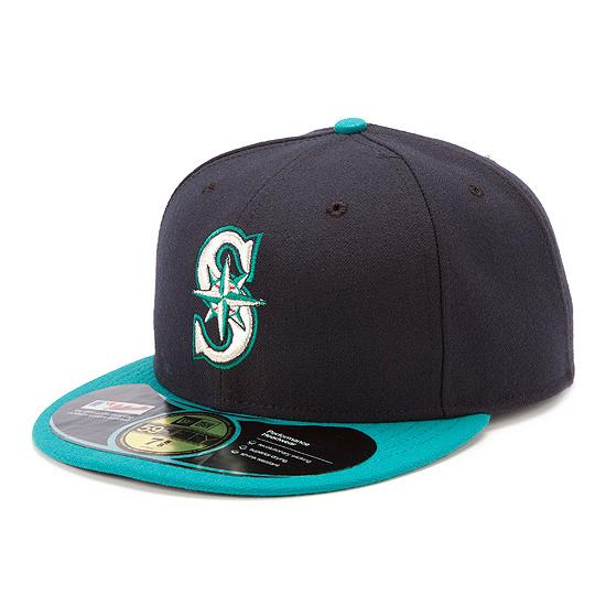 MLB Seattle Mariners Authentic Performance On-Field Cap 2012 (2012 alternate) New Era
