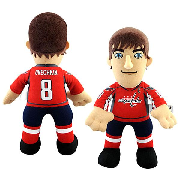 NHL capitals # 8 Alexander Ovechkin Inch Plush doll Bleacher Creatures