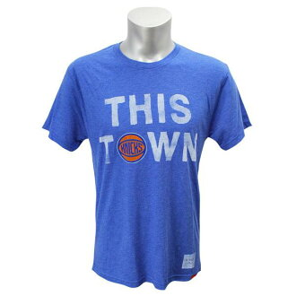 NBA New York Knicks This Town T-shirt (blue) Sportiqe