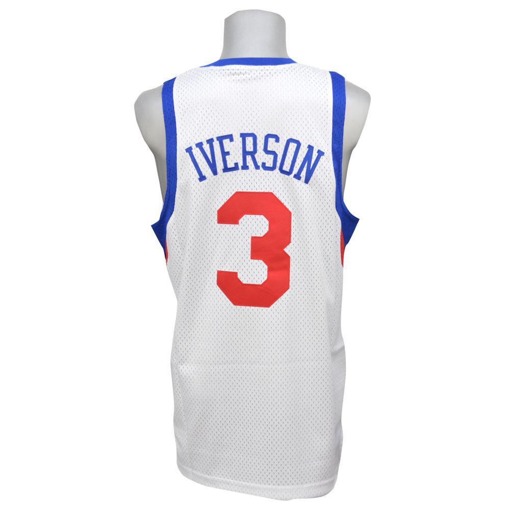 NBA 76ers アレン・アイバーソン ソウル スウィングマン ユニフォーム アディダス/Adidas