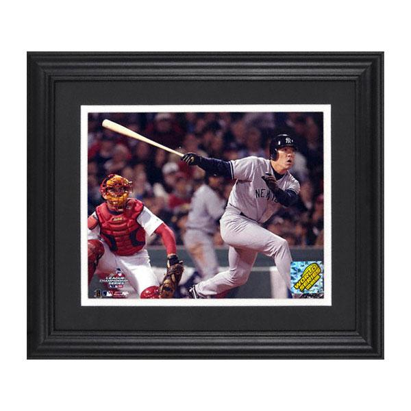 MLB Yankees Matsui Hideki photo frame 2003 ALCS mounted memories /Mounted Memories (Framed Unsigned 8 x 10 Photograph)