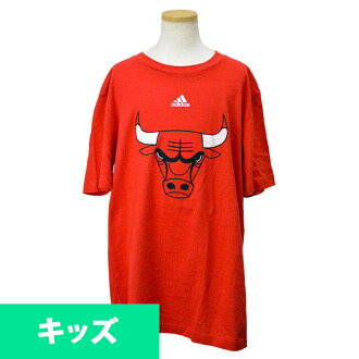 NBA Chicago Bulls Youth Full Primary Logo T-shirt (red) Adidas