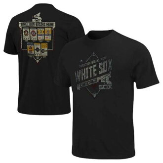 MLB White Sox t-shirt Navy majestic Copperstown Game Obsessed T shirts