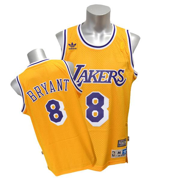 NBA レイカーズ コービー・ブライアント ユニフォーム ホーム アディダス Soul Swingman ユニフォーム