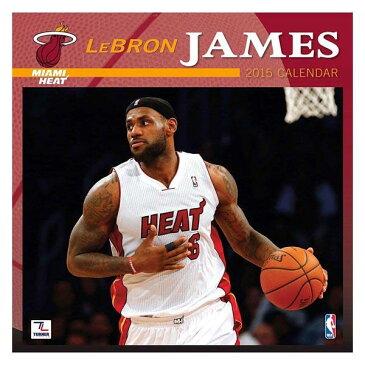 NBA ヒート レブロン・ジェイムス カレンダー JFターナー/JF Turner NBA 2015 12×12 PLAYER WALL カレンダー