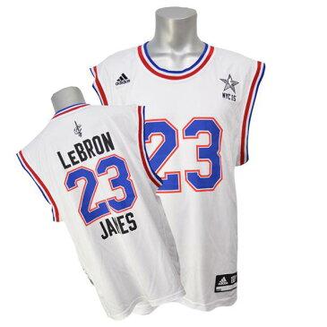 NBA イースト レブロン・ジェイムス ユニフォーム ホワイト Adidas