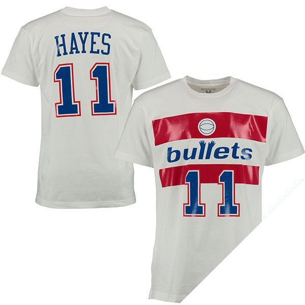 お取り寄せ NBA ウィザーズ エルヴィン・ヘイズ ネーム & ナンバー Tシャツ Mitchell & Ness