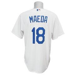 MLB ドジャース 前田健太 クールベース プレーヤー レプリカ ゲーム ユニフォーム マジェ…