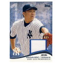 MLB ヤンキース 田中将大 2014 ジャージ カード トップス/Topps レアアイテム