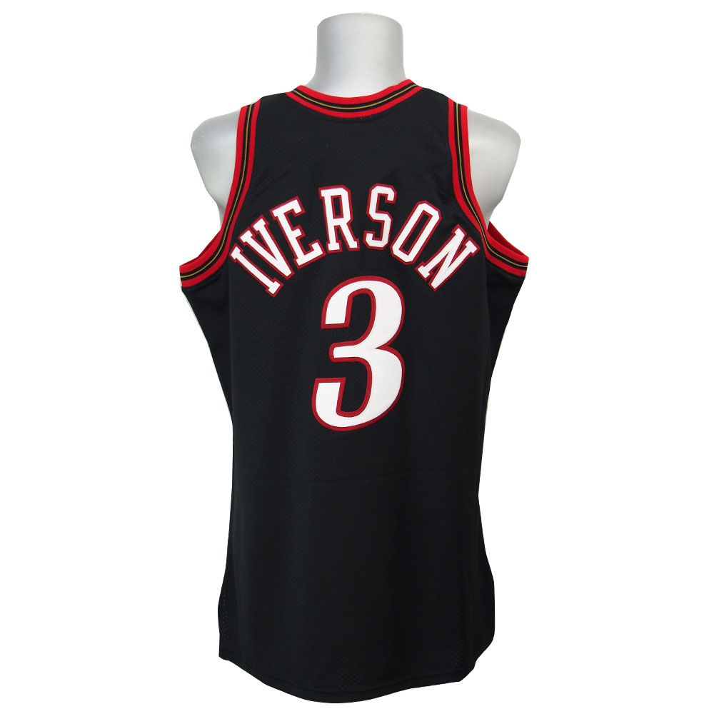 NBA 76ers アレン・アイバーソン スローバック オーセンティック ユニフォーム ミッチェル&ネス/Mitchell & Ness:MLB.NBAグッズショップ SELECTION