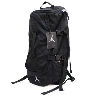 耐克喬丹 /NIKE 喬丹運動服最大承受負載背包黑色 / 灰色