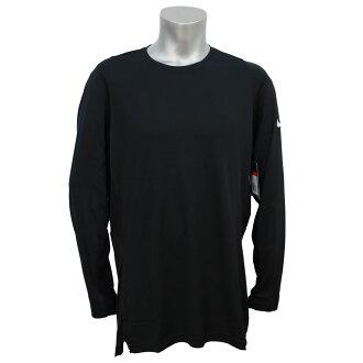 反式成型機越過長袖上衣耐克 /Nike 黑色