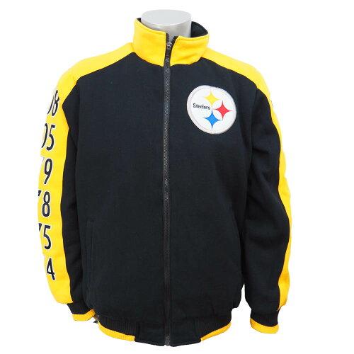 NFL スティーラーズ クラシック ジャケット ジースリー/G-III