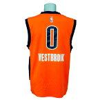 NBA サンダー ラッセル・ウェストブルック レボリューション レプリカ ユニフォーム アディダス/Adidas オルタネイト フレックス