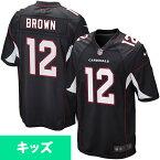 お取り寄せ お取り寄せ NFL カーディナルス ジョン・ブラウン キッズ ゲーム ユニフォーム ナイキ/Nike ブラック