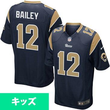 お取り寄せ NFL ラムズ ステッドマン・ベイリー キッズ ゲーム ユニフォーム ナイキ/Nike ネイビー